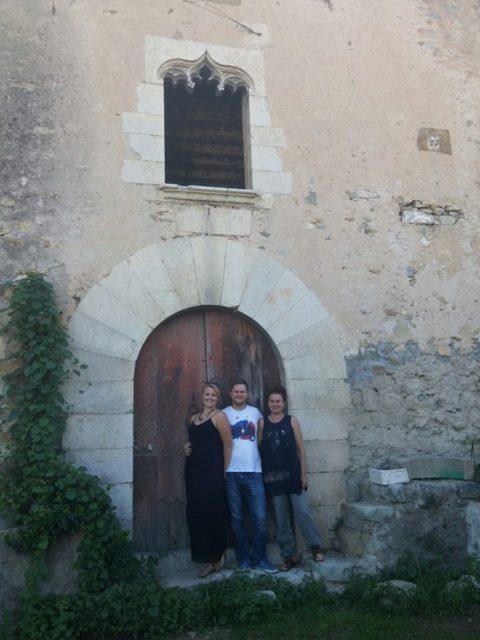 Visita de Iwona Sobotka y Pawel Marciniak a Can Clos.
