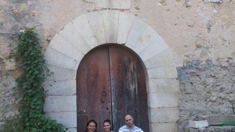 Visita de Agnieszka Samitowska y Artur Faryna a Can Clos.