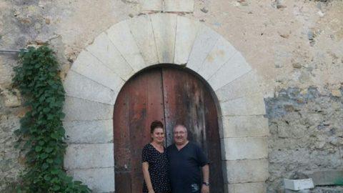 Visita Martí Peracaula a Can Clos.