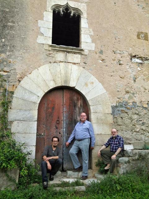 Jaume Fàbrega i Pablo Penabad a Can Clos