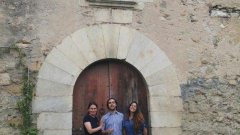 Visita de Marco Braccini y Jhê Delacroix a Can Clos