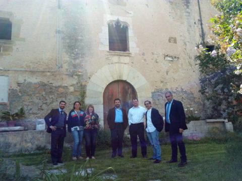 Representació del Consolat de Brasil i Consorci Ter-Brugent a Can Clos.