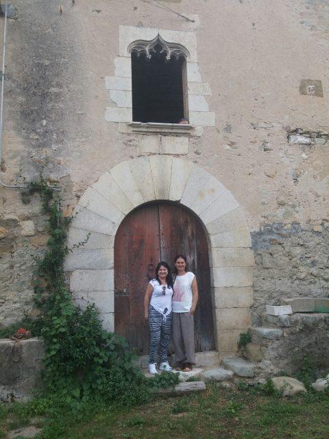 La Sra. Lorena Escudero visita Can Clos