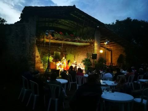 Pere Soto Gypsy Trio Concert a Can Clos.